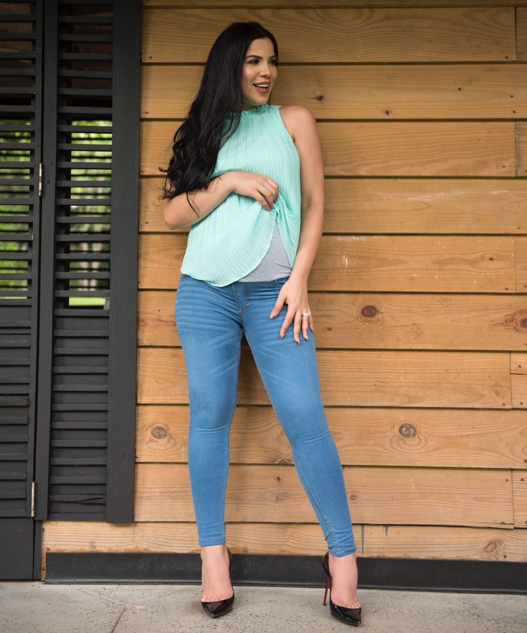 Yubelkis Peralta Presenta Linea De Jeans Para Embarazadas Mas Vip
